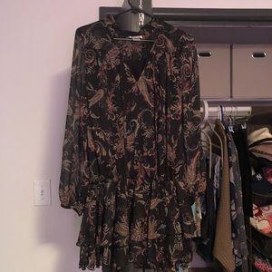 Paisley Tunic/Mini Dress